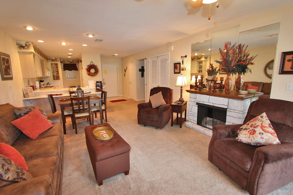 Couch,Furniture,Dining Table,Table,Fireplace