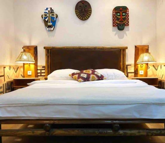 Africa Inspired Room