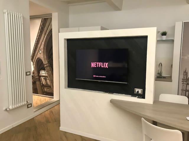 Netflix connection with Chromecast!