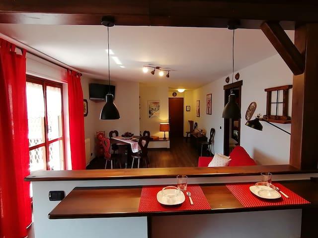 """"""" Mon Abri """" Appartamento a Saint Vincent"""