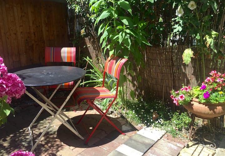 Gite avec jardin proche de Paris .