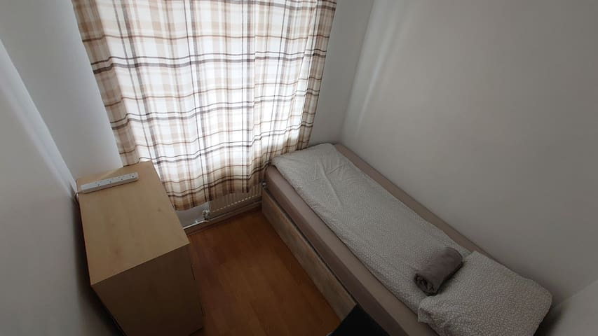 Small single room for travellers