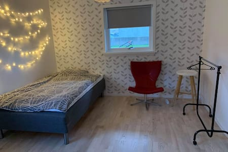 Torshavn room in Hoyvík good size.
