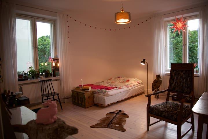 Enchanting studio, super location in trendy Kallio