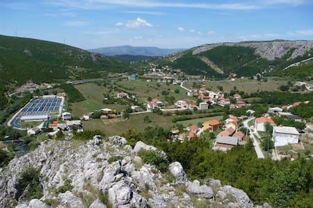 Radman family household at river Cetina - Split