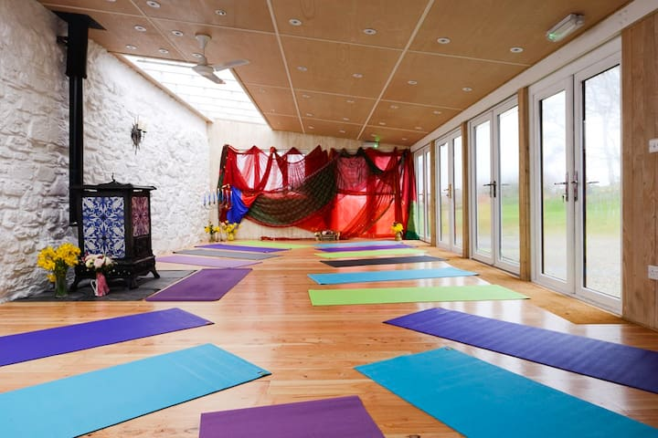 All types of events/activities in the Games/Function Room like Yoga!