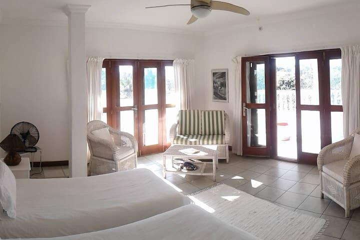 Sulle spiagge del Mozambico, la Villa Coloniale