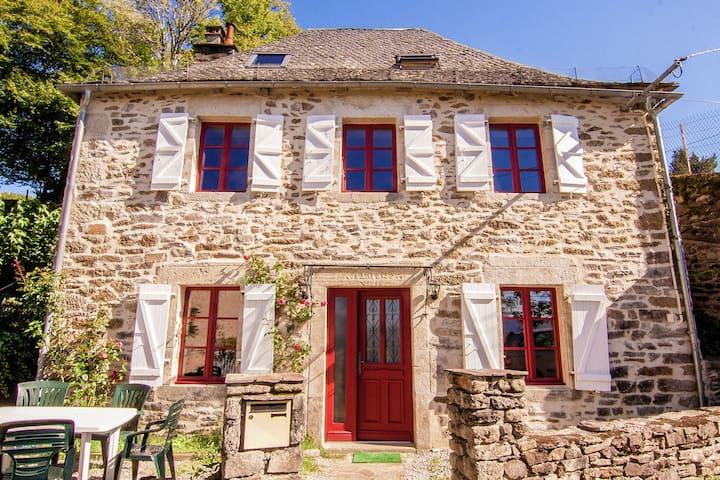 In ehemaligen Weinbaugebiet renoviertes Haus mit herrlicher Aussicht.