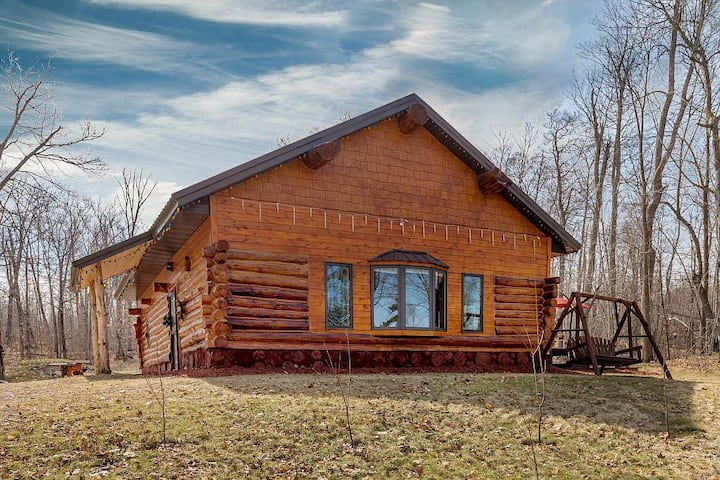 Log Home Cabin~Paradise North~Brainerd MN
