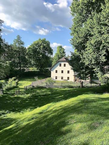 Pobyt na Mlejně/Mill Accommodation