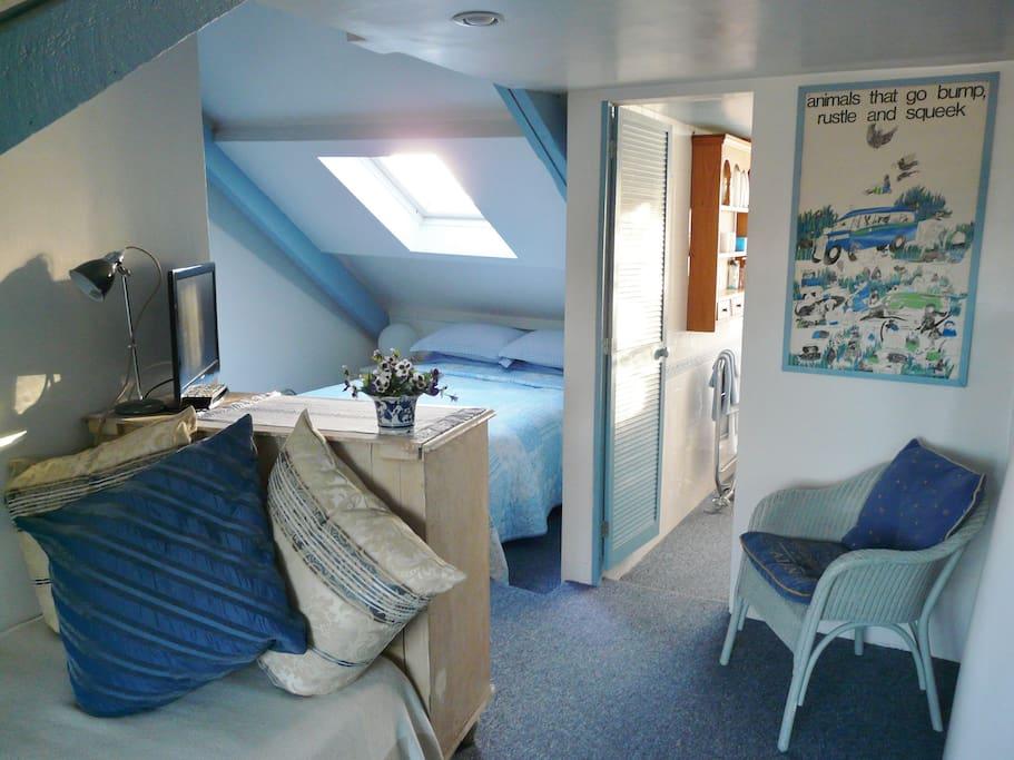 Blue & White Room