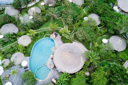 海边 - 茅屋顶传统巴厘岛石头小屋 - 南库塔(South Kuta) - 小木屋