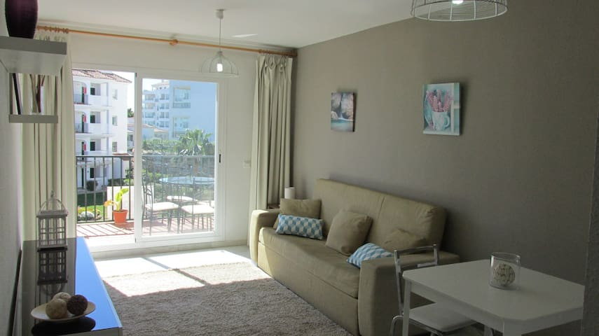 Nice apartment -800m from the beach - Mijas - Apartamento