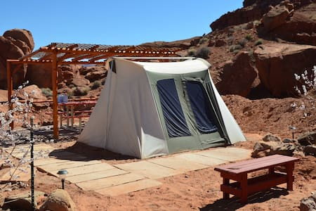 Monument Valley Campsite 2 - Oljato-Monument Valley - 帐篷