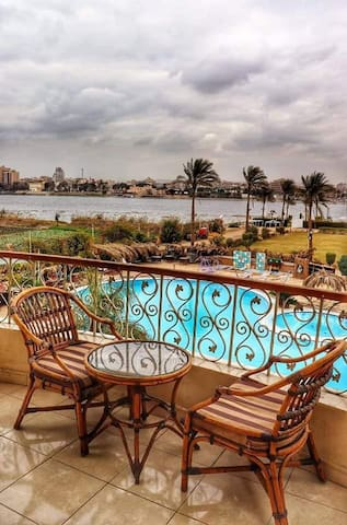 Residence within the Nile River Island