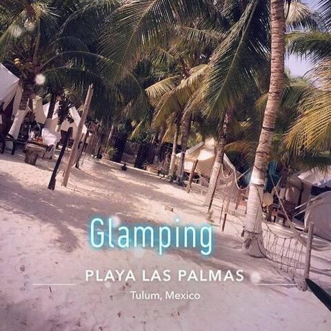 Glamping playa las palmas, ecoturismo