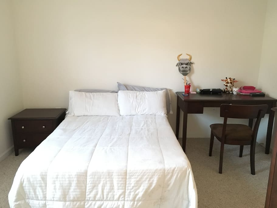 Comfortable Bedroom With Bathroom Inside Near Usf Apartments For Rent In Tampa Florida