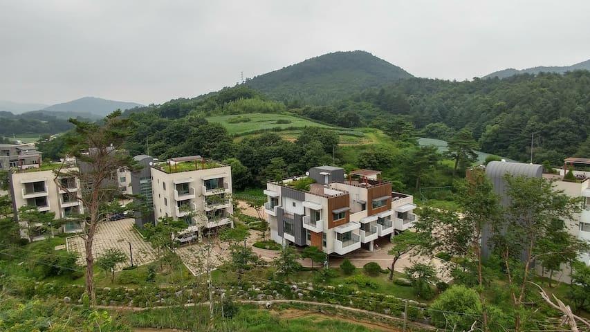 Modern Villa near Alpensia & YongPyong ski resort - Daegwalnyeong-myeon, Pyeongchang-gun - Villa