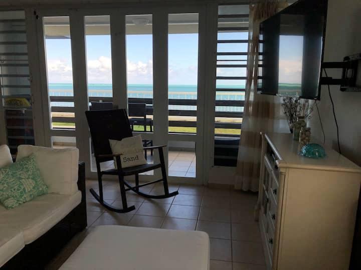 Ground Floor Relaxing and Cozy Oceanfront Condo