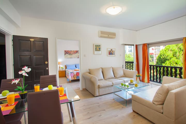 Castle Holiday Apartments, Flat A203 - Germasogeia