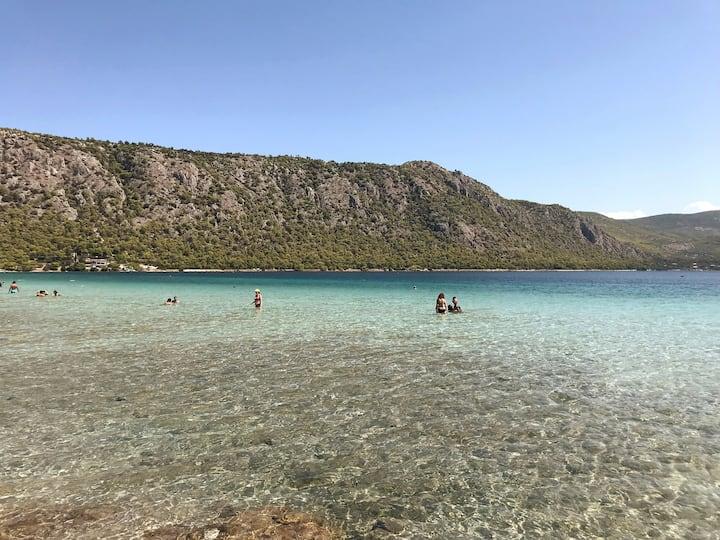 Lagoon of Vouliagmeni at Perachora