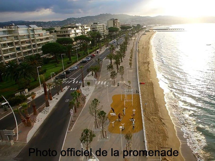 Vue d'ensemble de la résidence Cannes Midi