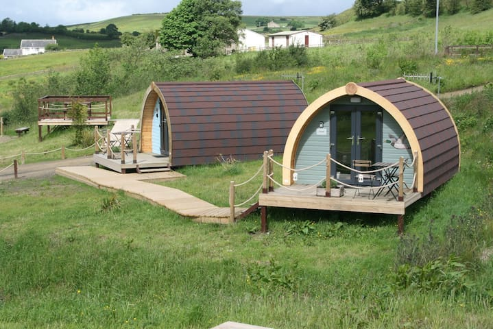 Glamping Pod with superb views