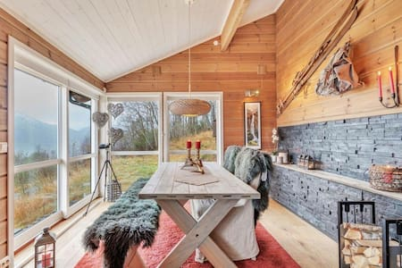 Wounderful cabin in the Alps - Sæbø - 自然小屋