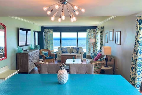 *Beach Front, 2 Pools*Tennis Courts*Balcony*A/C