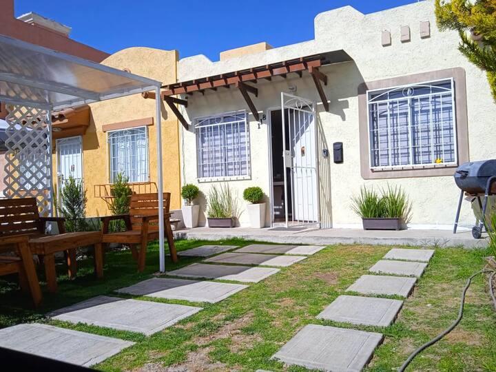 Casa acogedora! en la entrada de Pachuca!