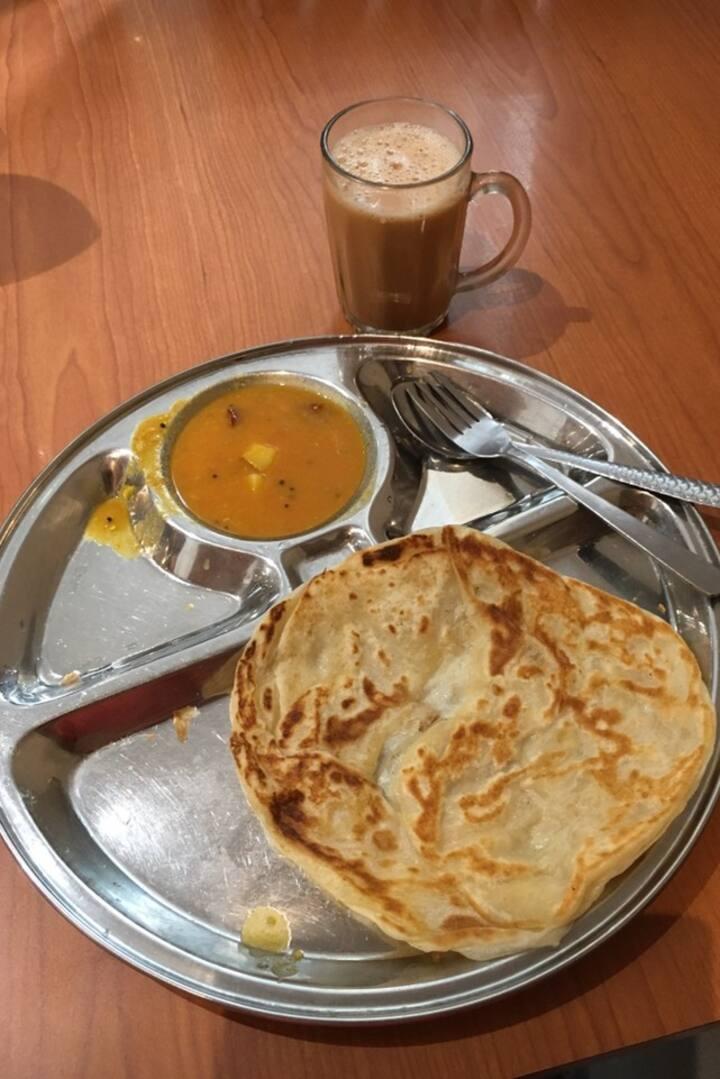 Roti Canai & Teh Tarik