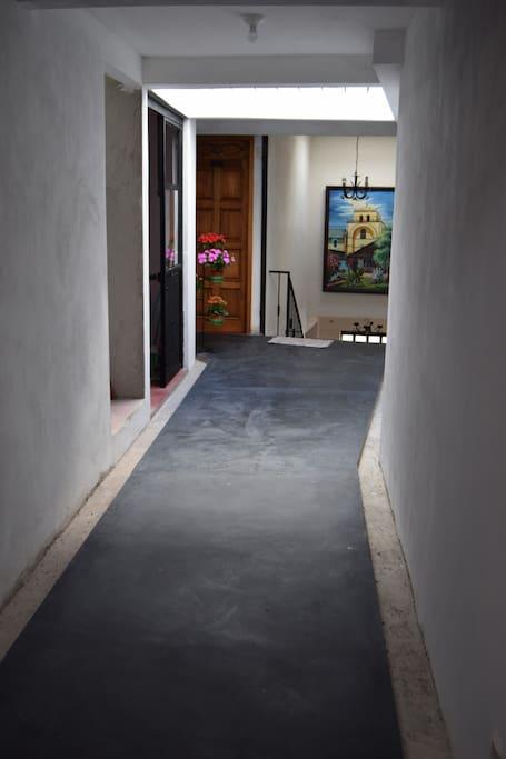 Corridor to the room