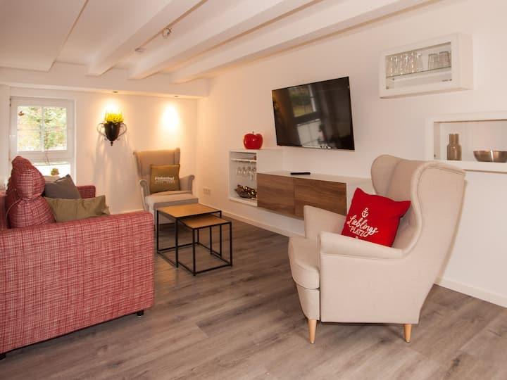 Landhotel Voss, (Lennestadt), Ferienwohnung Schweinestall, 77 qm, 2 Schlafräume, max. 4 Personen