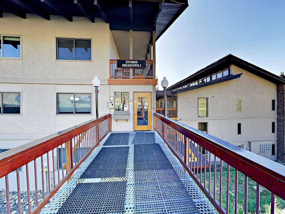 Welcome to Steamboat! This slope-side unit is professionally managed by TurnKey Vacation Rentals.