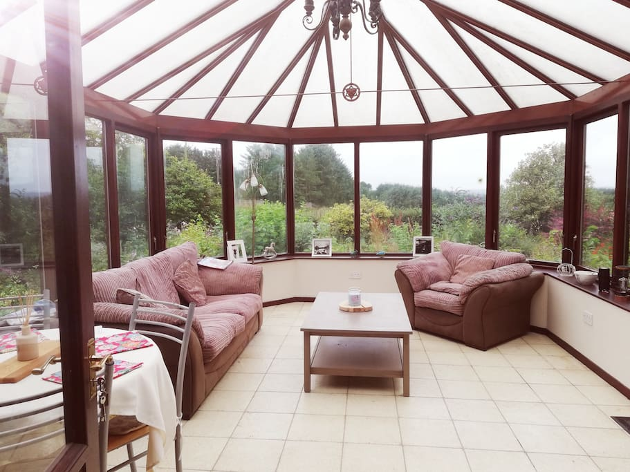 Guests will have sole use of the conservatory to relax in and enjoy open views of beautiful Aberdeenshire.