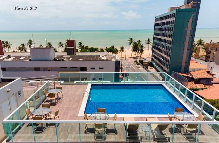 """Flat """"TOP"""" novo  e lindo! no melhor do Cabo Branco"""