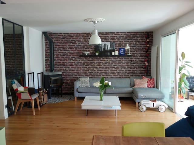 Maison 125 m2 à 5 min de Dijon - Quetigny - บ้าน