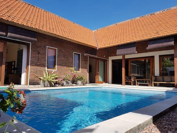 Private villa 4BR in sanur with swimming pool