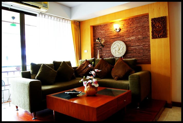 2 bedroom, 74 sqm condo, close to Jomtien beach.
