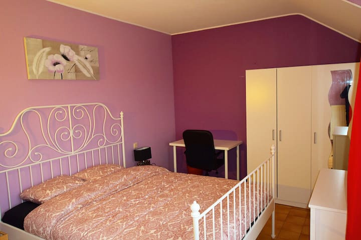 Pink Suite with Terrace View & Bathroom & Parking