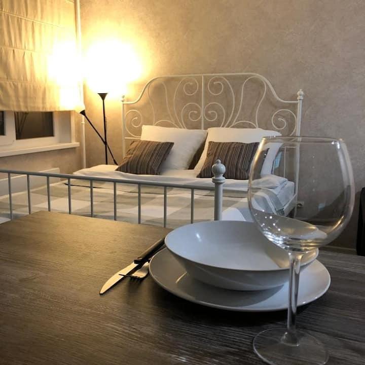 Уютная квартира на Кудашева 108