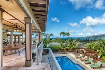 "ハワイカイポートセレブ邸宅   Port Rock Luxury ""Oceanview"" home - Honolulu"
