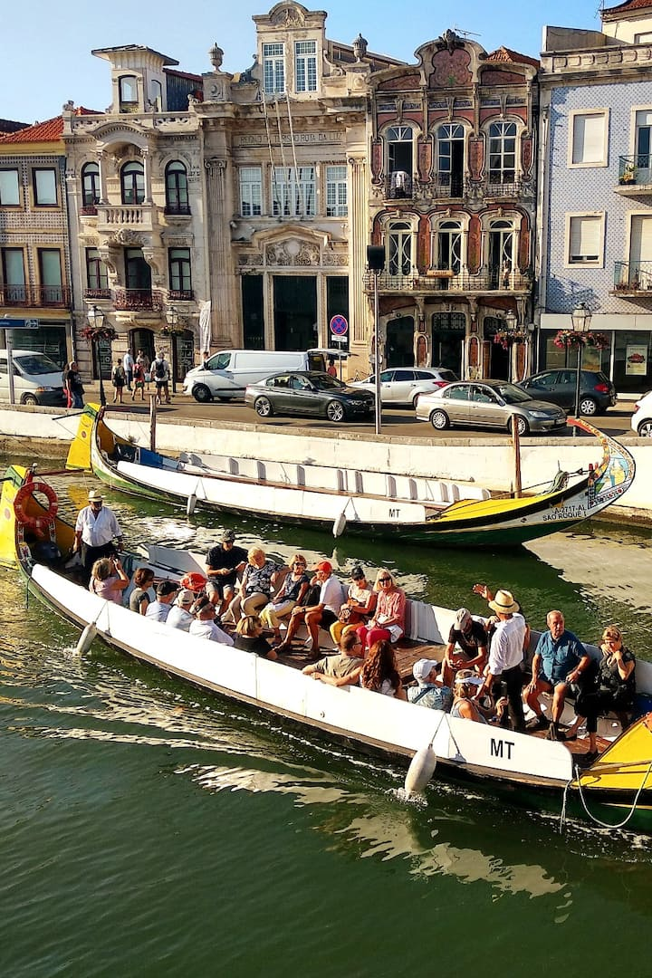 Boat ride at the Aveiro canals!