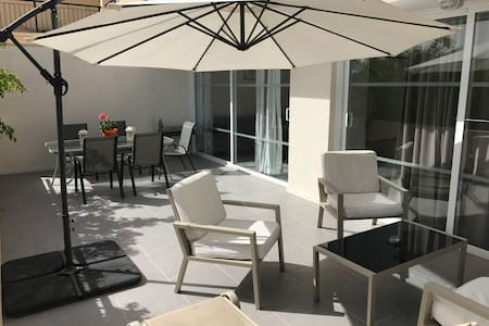 Spacious 2-Bedroom Apt in Ayia Napa- Free WiFi