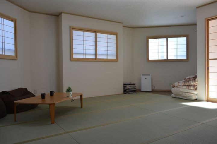 室内和風新築!富士急ハイランド駅から徒歩3分、観光・遊びに最適! - Fujiyoshida-shi - บ้าน