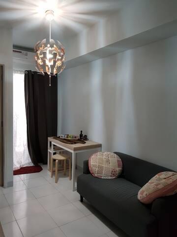 Hanya Rp 500 Ribu/malam Ayodhya Apart 2 bed room