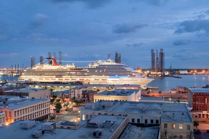 200-yards to the Cruise Ship Terminal