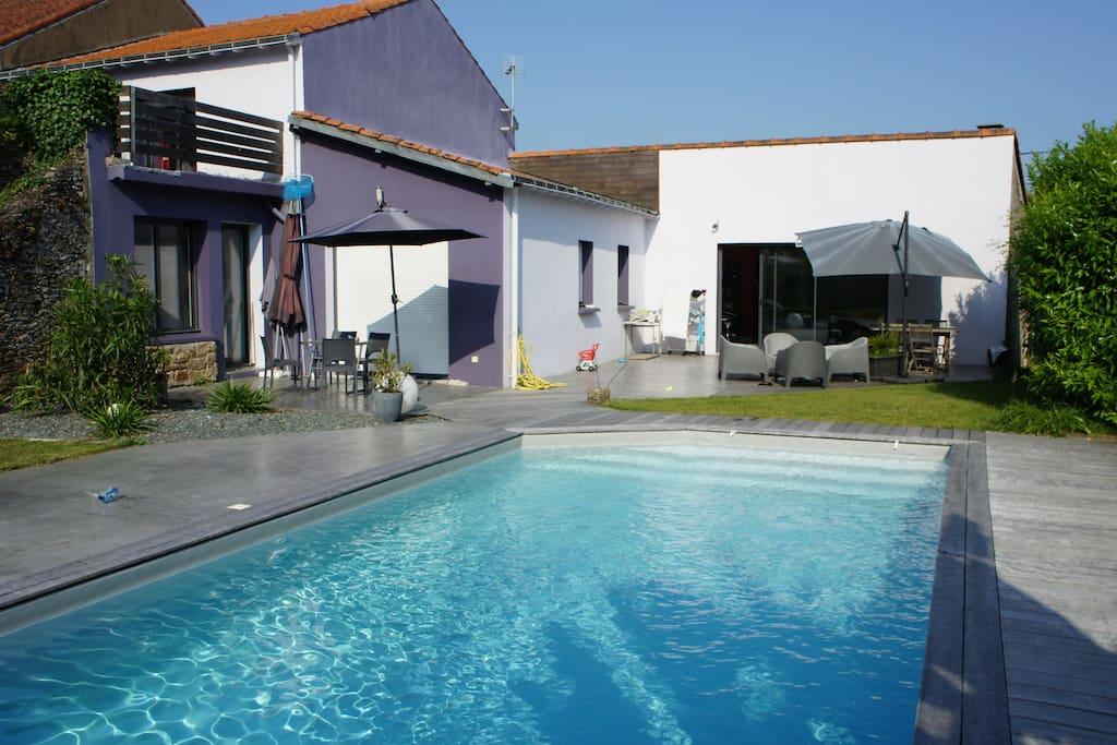 Vertou nantes porte de nantes piscine chambres d for Chambre d hote valle de la loire