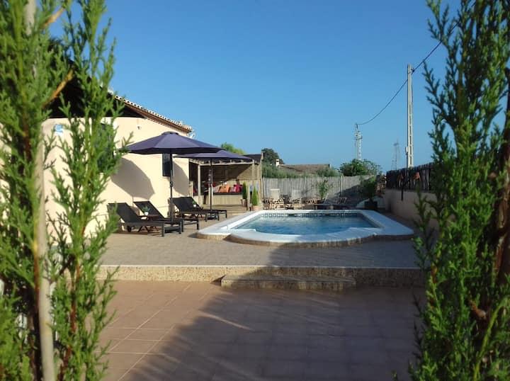 Vakantiewoning met privé zwembad Finca Milagro