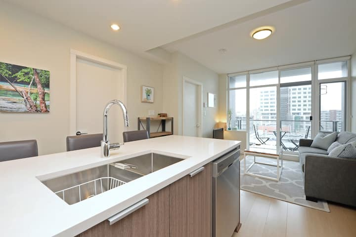 Beautiful Downtown Condo in ERA Building with AC